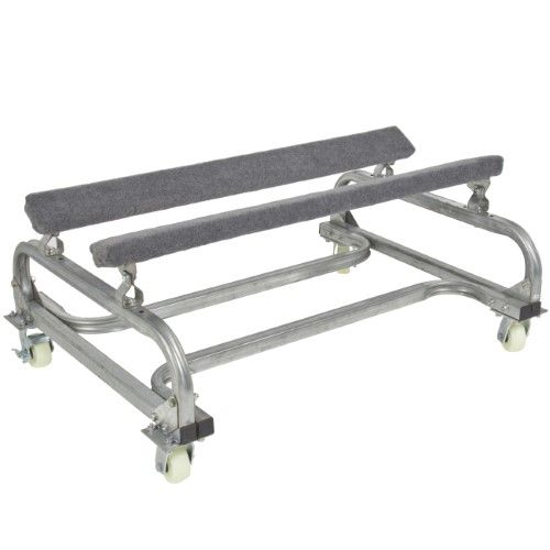 Best Choice Products 1000lb Marine Dock Slip Watercraft Cart Boat Storage Dolly Stand