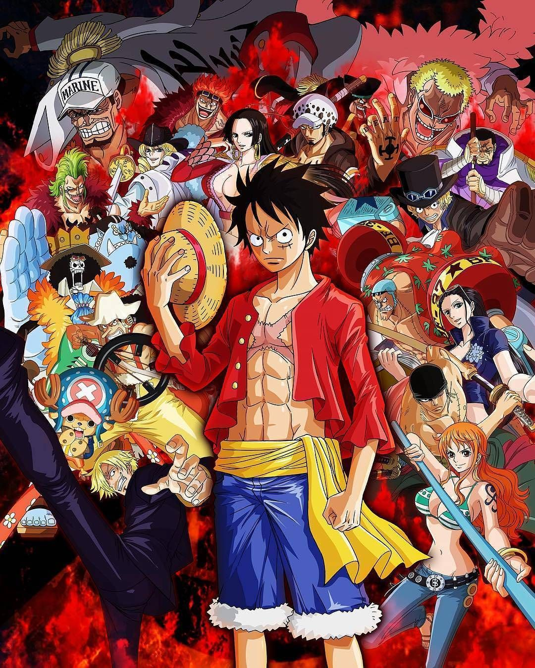 clic ici/for see luffy and one piece