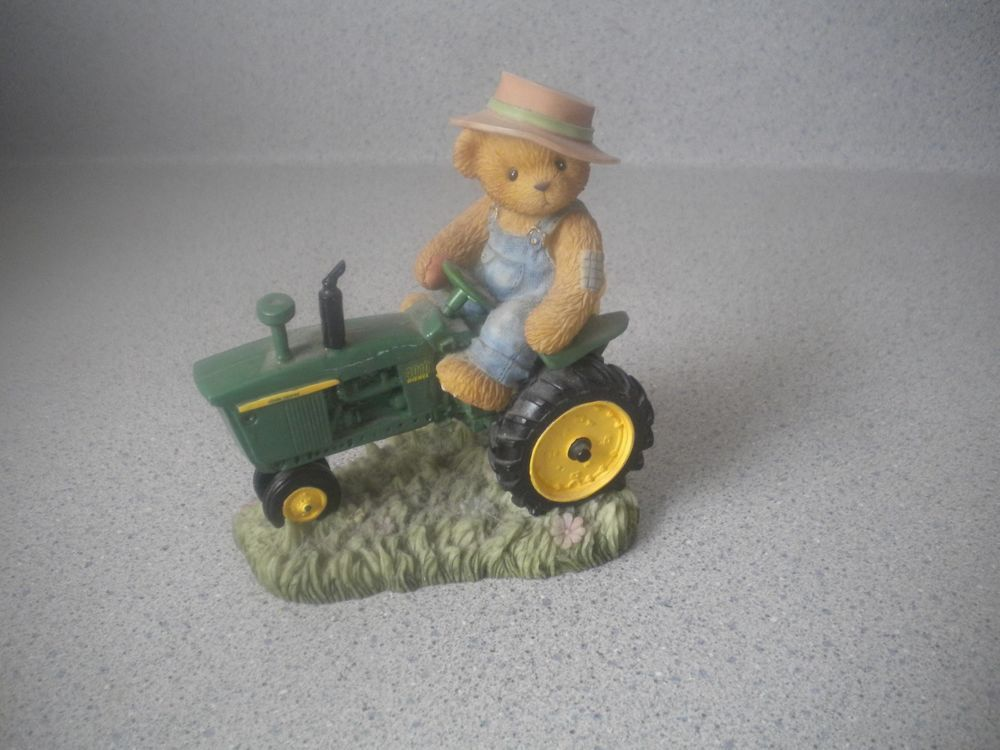 "Cherished Teddies John Deere ""You've Always Been A Deere Friend"" Collectible"