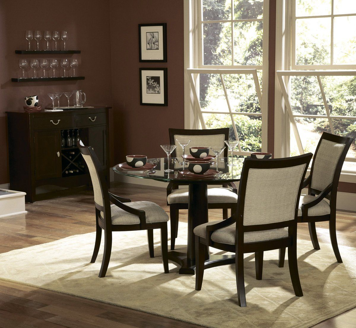 Small round kitchen table  ROUND dining table  For the Home  Pinterest  Round dining table