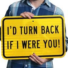 Image result for wrong way sign
