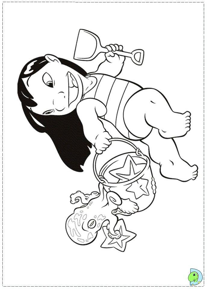 coloriage lilo et stitch | Coloring Pages *Disney | Pinterest ...