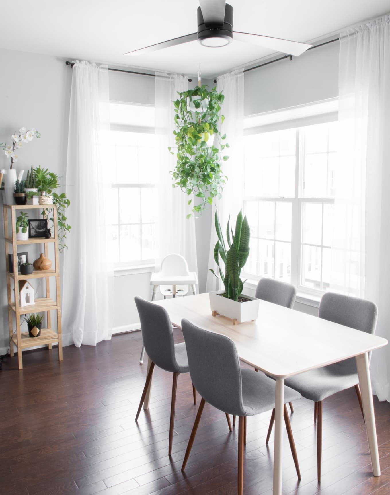 Simple Modern Dining Room Our Minimal Townhouse For A Family Of Three And Two Kitties Looking Decorating Ideas