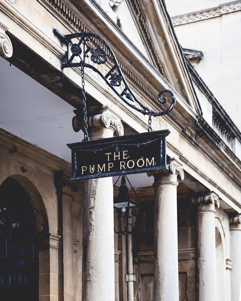 The Pump Room In Bath England A Must Stop For Afternoon Tea