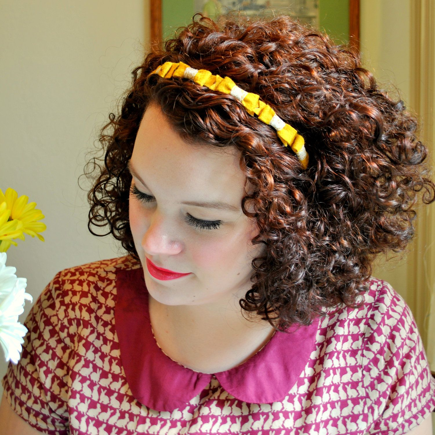 Love her curly hair curly hair donut care pinterest curly