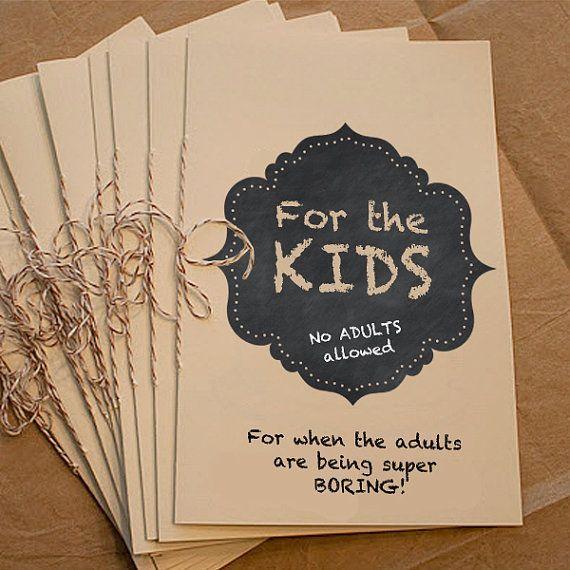 Kids Activity Coloring Book Wedding DIY Printable