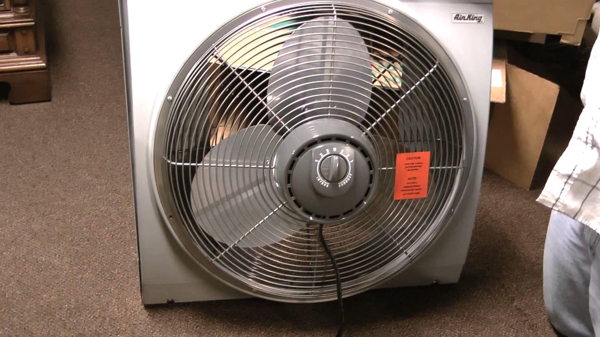 The Air King Model 9166 Whole House Window Fan Window Fans