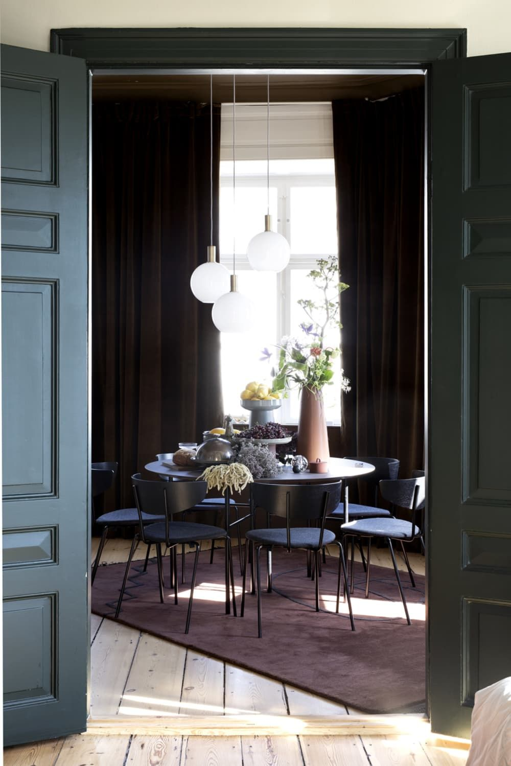 7 Great Sources For Scandinavian Furniture And Decor Interior Design London Home Interior Design Dining Table Pendant Light