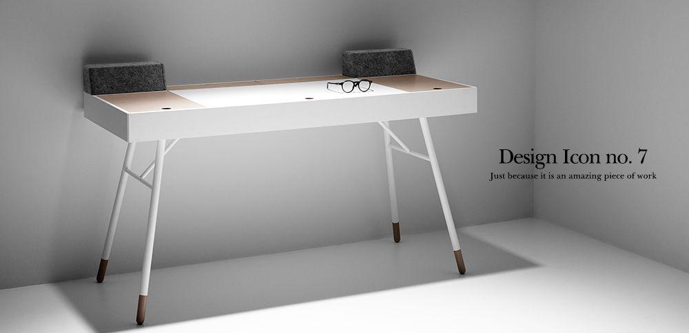 BoConcept Designikon - Cupertino skrivebordet