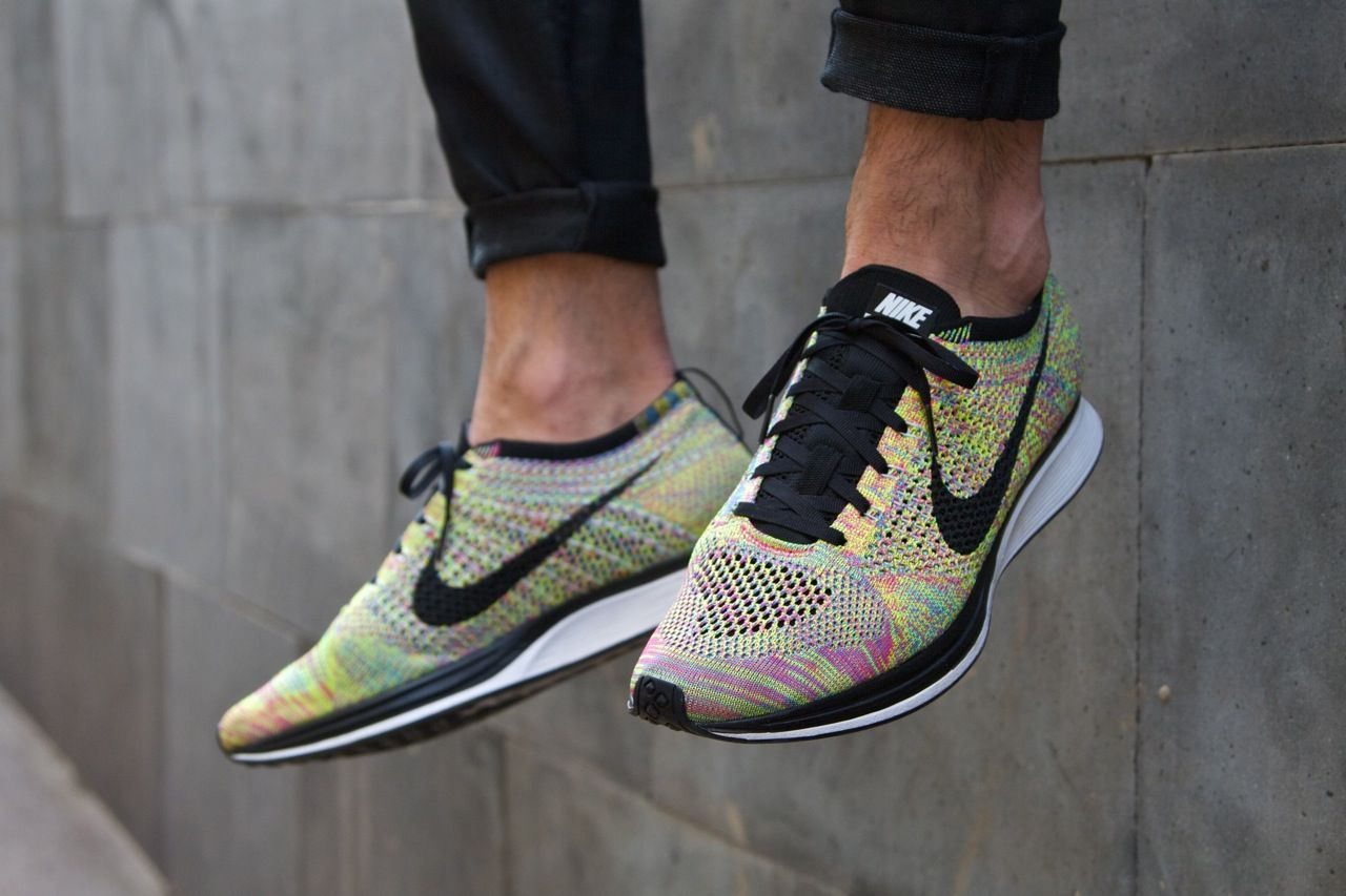 Nike Flyknit Racer special edition / London and Milano exclusive