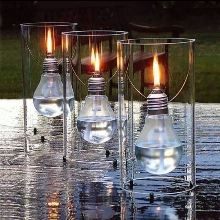 Bright Ideas For Upcycling Lightbulbs DIY Light Bulb Oil Lamp