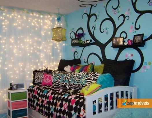 Arte vira tendência, principalmente em quartos infantis. A escolha dos desenhos e cores imprimem ao lar um pouco da identidade dos moradores. Clique na foto e confira!