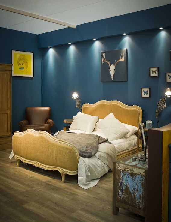 Mustard Yellow And Dark Teal Bedroom Google Search Bedroom Pinterest Dark Teal Bedroom