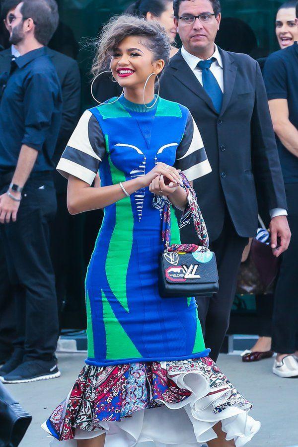 99e67cbe67c5b Zendaya arriving at the Louis Vuitton show in Rio de Janeiro, Brazil 5 28 16