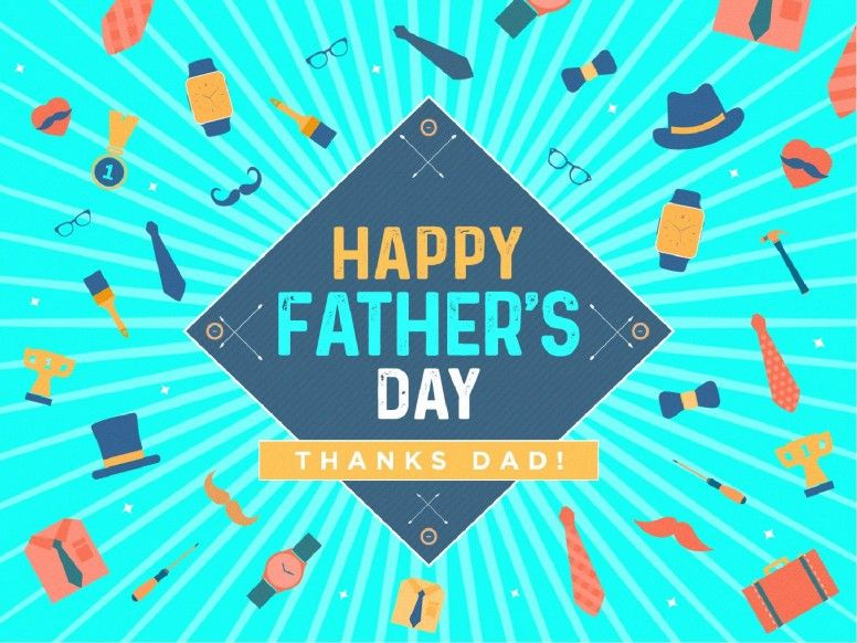 happy father's day sermon powerpoint template | powerpoints, Modern powerpoint