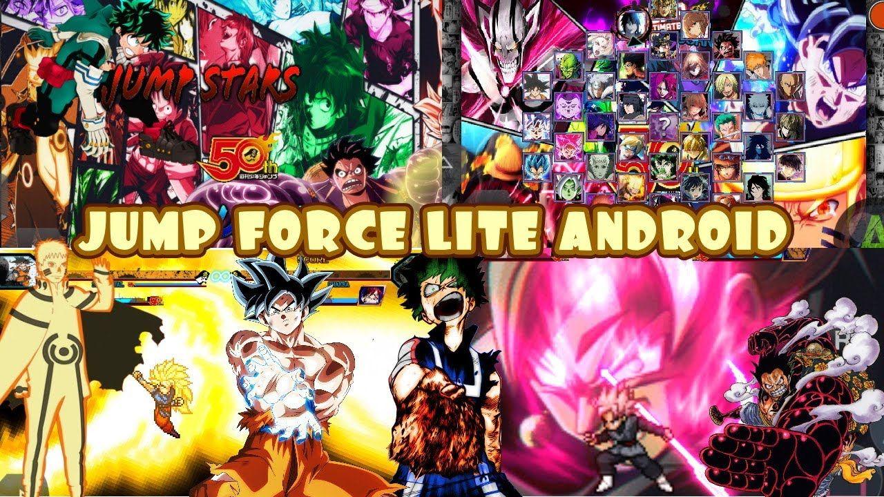 Bleach VS Naruto 3.3 MOD Jump Ultimate Stars Force Lite MUGEN Android [D...    Star force, Naruto, Naruto mugen
