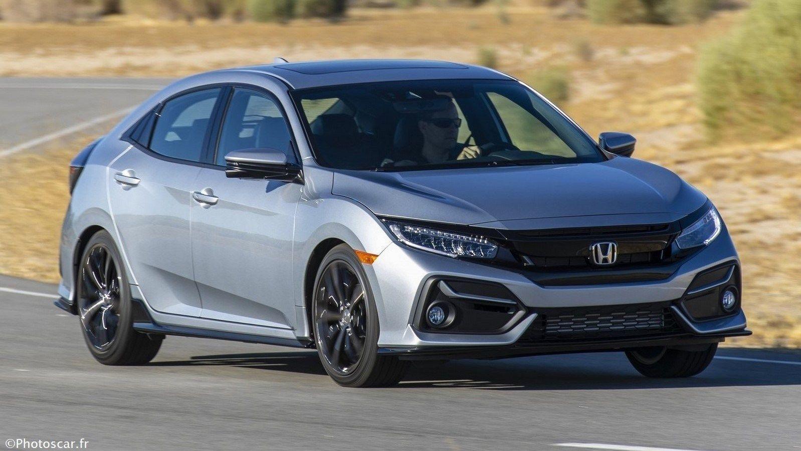 Honda Civic Hatchback 2020 Elle reçoit un visage plus