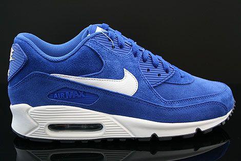 Nike Air Max 90 Essential Black Dark Grey Cobalt Blue