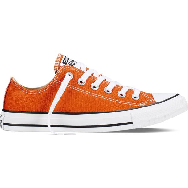 Converse Chuck Taylor All Star Fresh Colors – roasted carrot Sneakers ($55)  ❤ liked