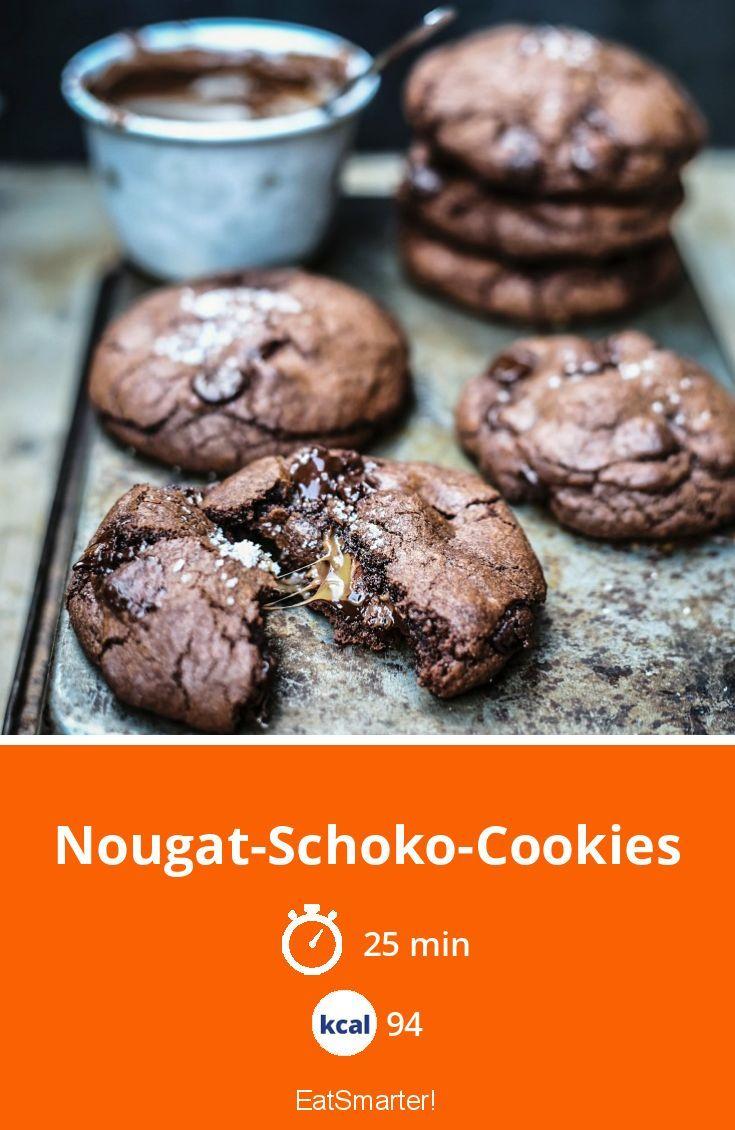 Nougat-Schoko-Cookies
