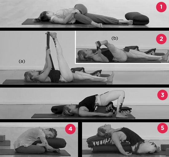 Yoga poses that will put you to sleep