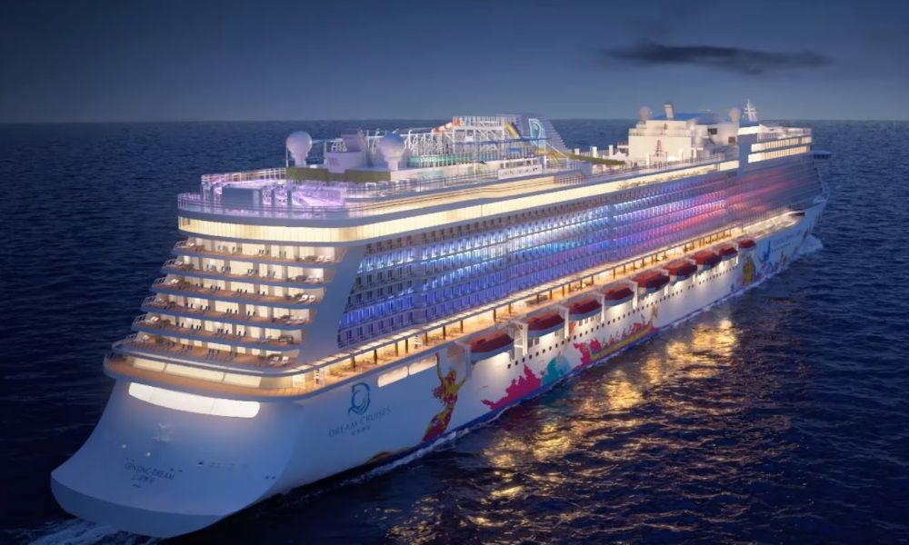 Genting Announces The Name Of Dream Cruises First Global Class Ship Cruise Sale Top Cruise Dream Cruise