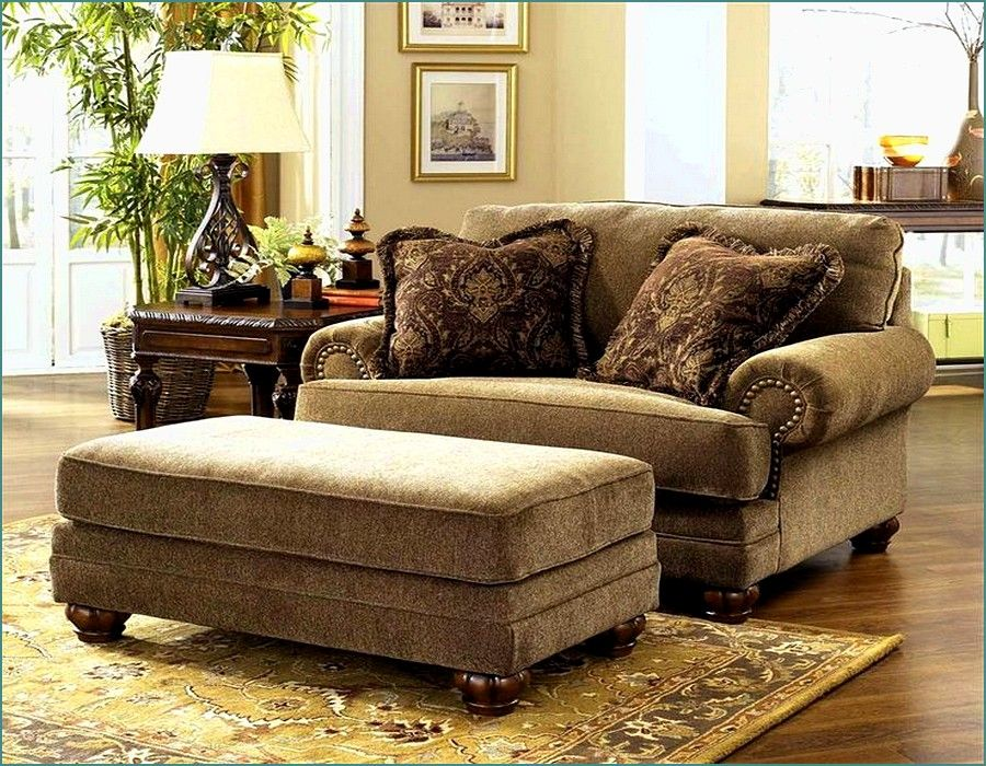 Overstuffed chair and ottoman set jennifer 39 s cup of tea for Comfy couches for sale