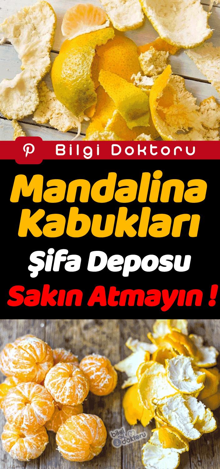 Mandalina Kabukları Şifa Deposu Sakın Atmayın  #mandala