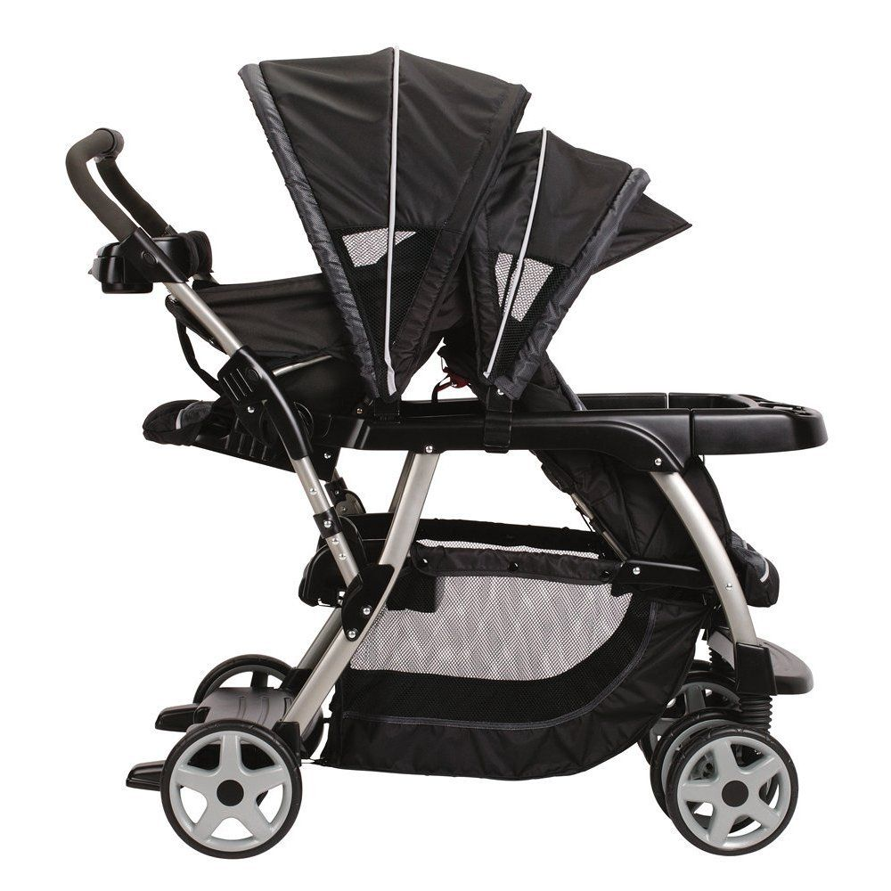 Double stroller possibility? Graco Ready To Grow Stand and
