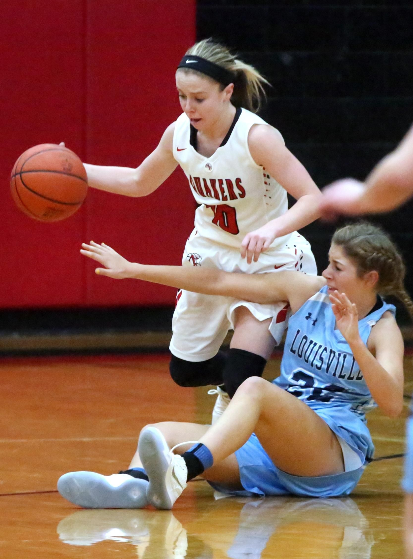 game after basketball Hot girls