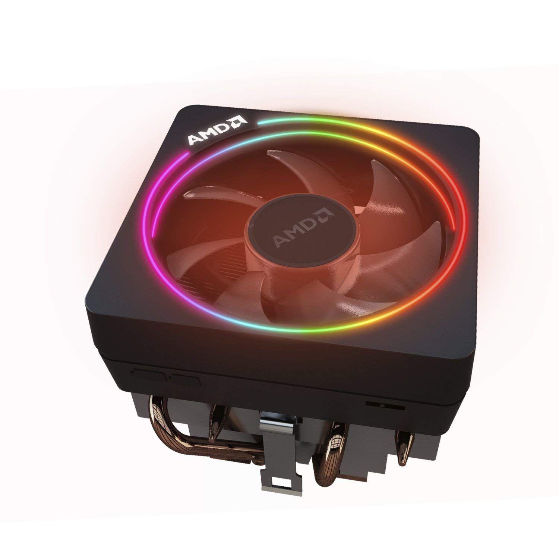 Amd Ryzen 7 2700x Processor With Wraith Prism Led Cooler Yd270xbgafbox Amd Custom Computer Fans For Sale