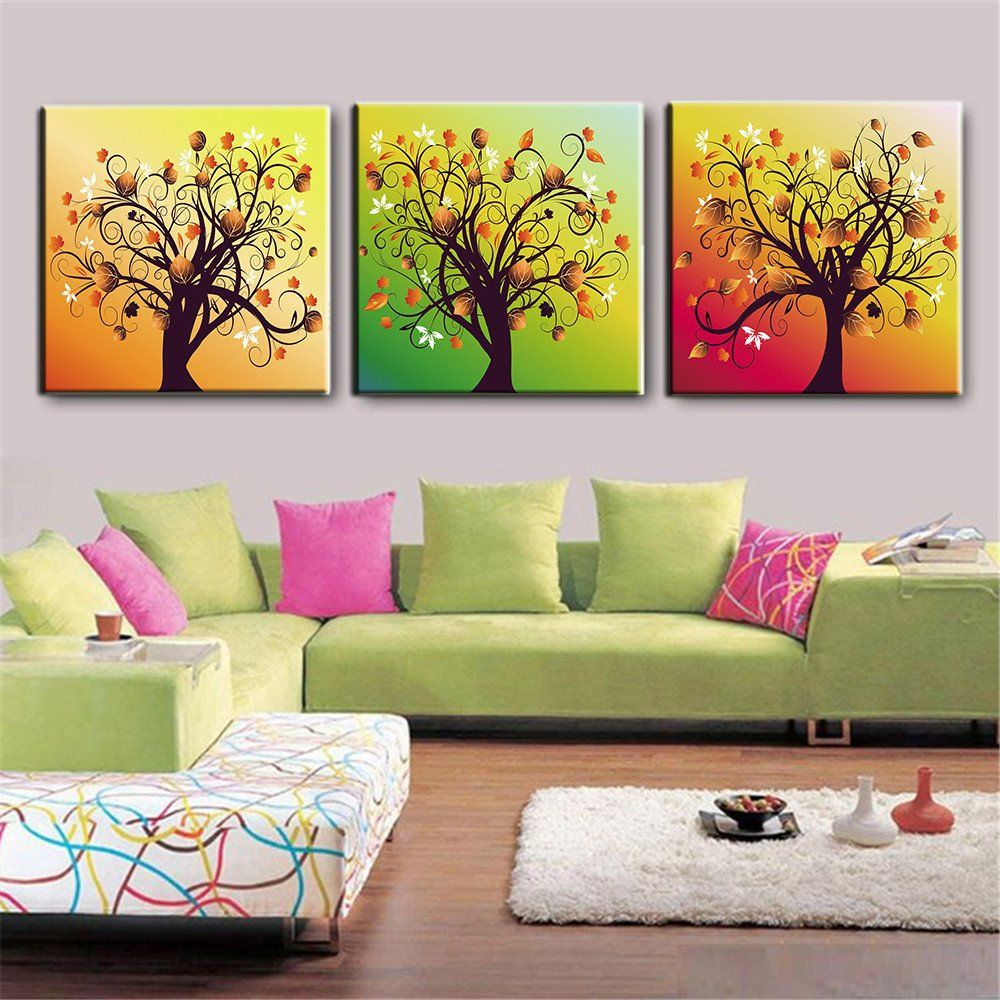 Paintings For Living Rooms Oil Painting Canvas Prints Abstract Modern Wall Art Pictures