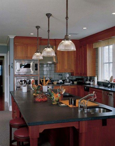 Two Arts & Crafts Kitchens: Bungalow Basic & Adirondack Spirit ...