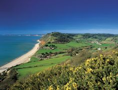 Branscombe Beach - East Devon Area of Outstanding Natural Beauty