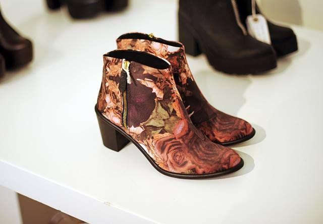 Miista Ivy Rose Pink at London Fashion Weekend
