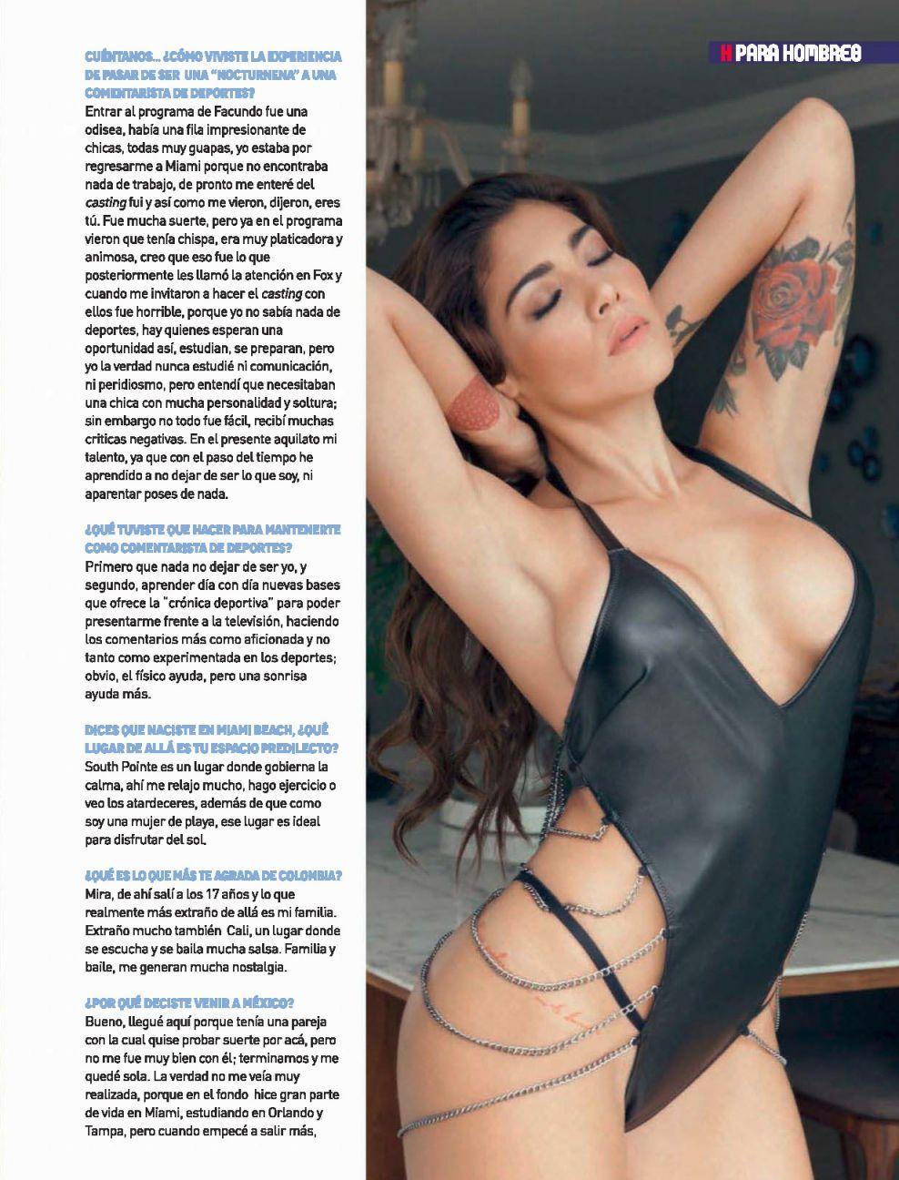 Erika Fernández ♡ Revista H Noviembre 2016