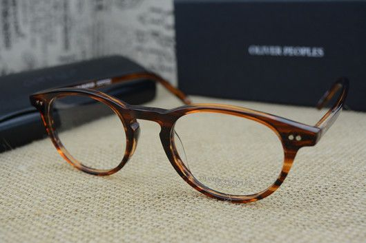 b0a16b32958 Famous Brand Oliver Peoples Riley-K Vintage Myopia Glasses frame Men and Women  Retro elegant Eyeglasses Fashion Eye Glasses