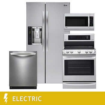 4 piece kitchen appliances Costco | Furniture | Kitchen ...