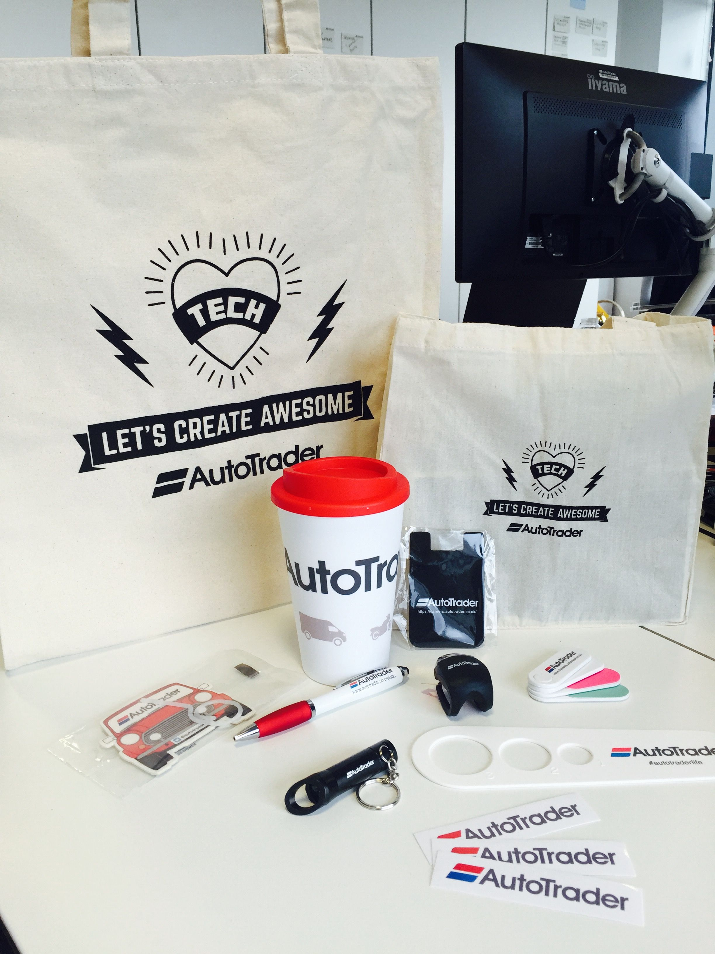 We love a good swag bag here at Auto Trader UK! Look at all those ...
