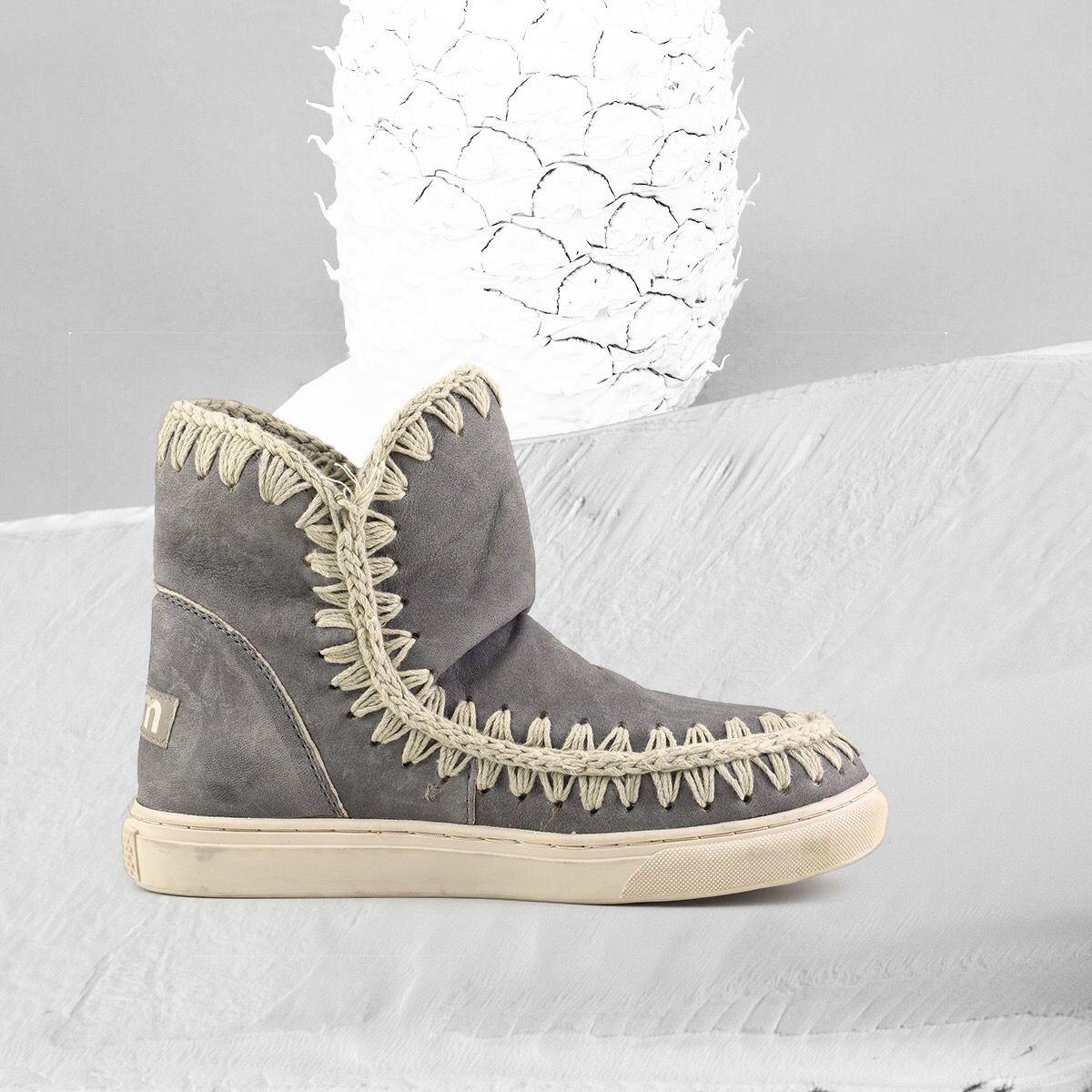 Sneaker MOU Donna Eskimo 18 perforated flower Obtener Nuevos Envío Libre En Italia La Libre Elección De Envío Dw6ImunGP