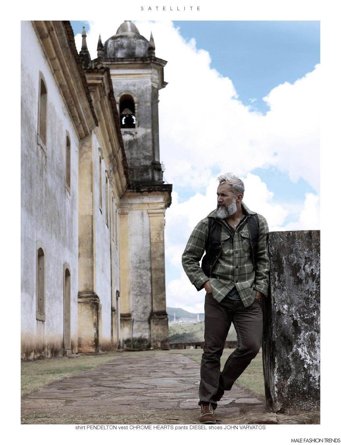 Wander Aguiar para Satellite Magazine Vol. XLV por Juliana Andrade