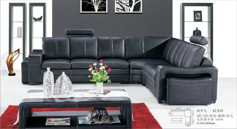 Armchair Chaise Fashion European Style Set Sofas In Sectional Sofa ...