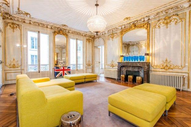 Lusso in place des vosges arredamento d 39 interni for Arredamento case di lusso interior design