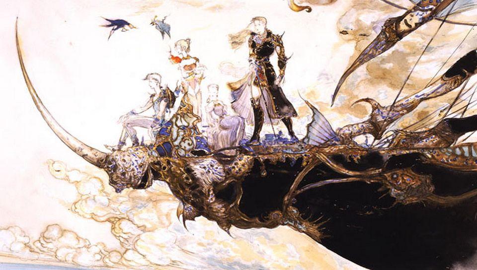 I Had Free Time So I Made A Desktop Wallpaper From Mountful S 960 544 Yoshitaka Amano Wallpapers Final Fantasy Art Mobius Final Fantasy Final Fantasy Artwork
