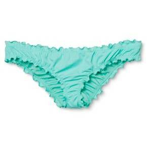 fde1e7fabcb1e Women s Wave Ruffle Cheeky Bikini Bottom - Shade   Shore   Target ...