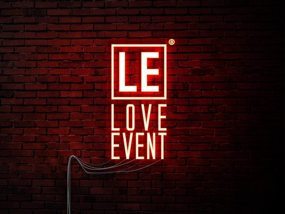 Love Event agency Logo