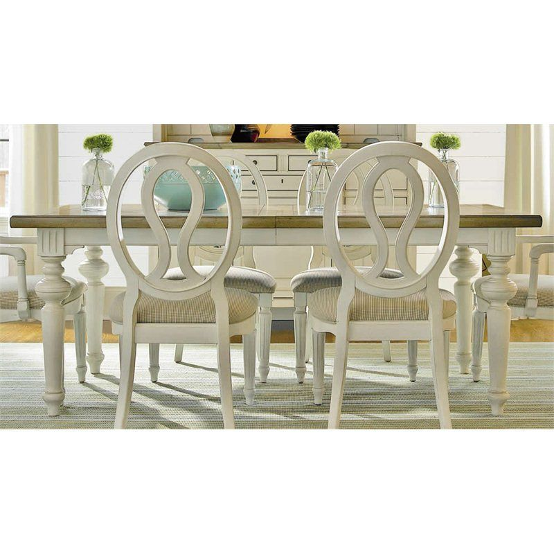 Universal Furniture Summer Hill Dining Table In Cotton 1 215 99