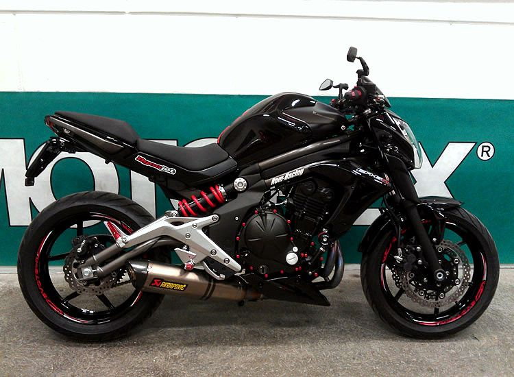 kawasaki er 6n | roaring steel | pinterest | wheels, cars and