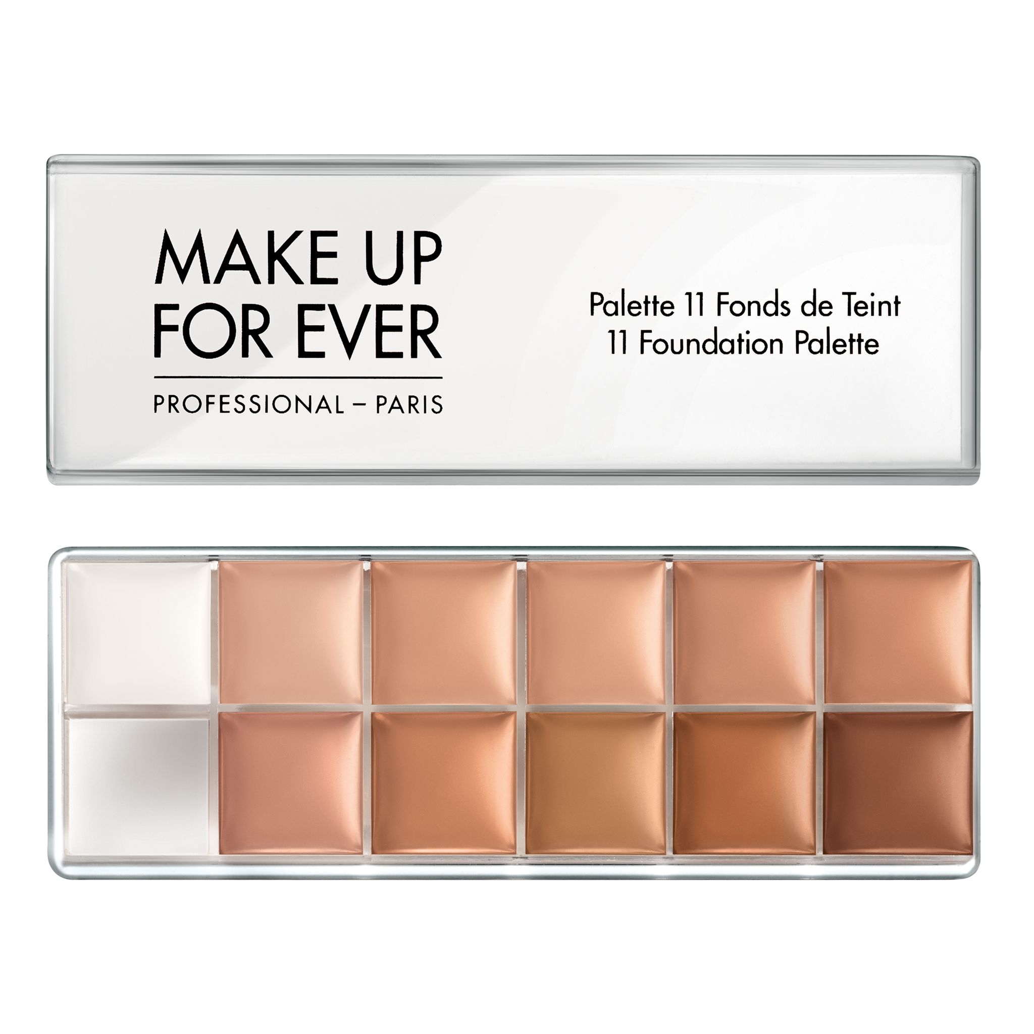 11 Foundation Palette Foundation MAKE UP FOR EVER