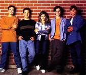 Boy Meets World chronicles the life of Cory Matthews beginning in elementary school to him settling down and getting married. Although quite a long journey growing up, in the end he gains lifelong friends, learns several lessons and finds true love. http://www.imdb.com/title/tt0105958/